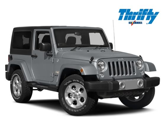 Superb 4 Wheel Drive Jeep Wrangler Thrifty Dollar Car Rental St. Thomas, US Virgin  Islands